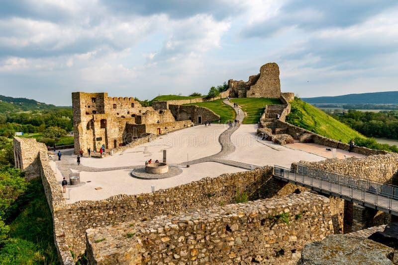 Devin Castle Slovakia 20 fotos de stock