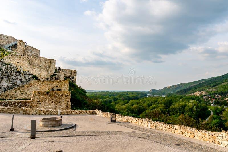 Devin Castle Slovakia 17 foto de stock