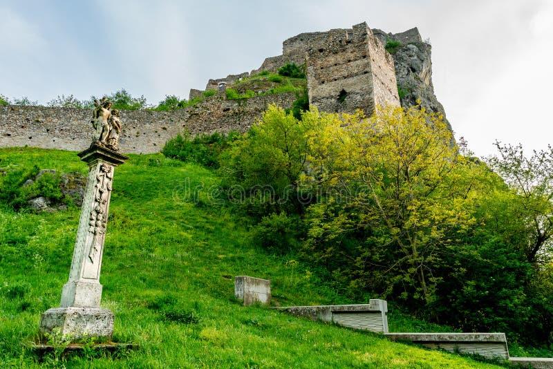 Devin Castle Slovakia 38 foto de archivo