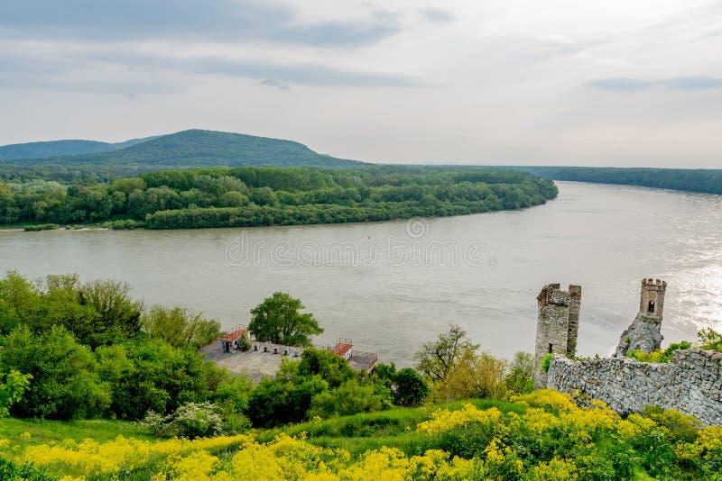 Devin Castle Slovakia 26 royalty-vrije stock fotografie