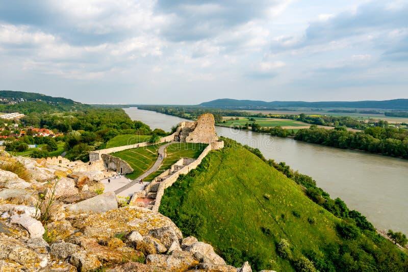 Devin Castle Slovakia 24 photos stock