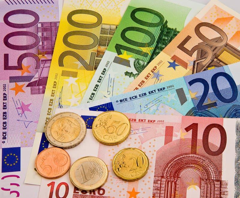 Devise d'Union européenne photographie stock