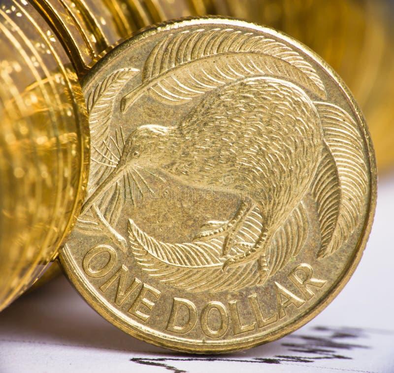 Devise du dollar de Nouvelle Zélande photos stock