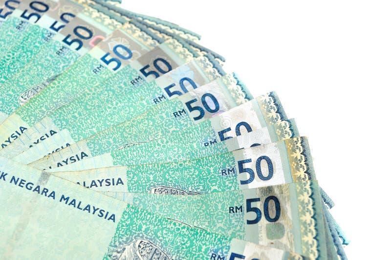 Devise malaisienne photo libre de droits