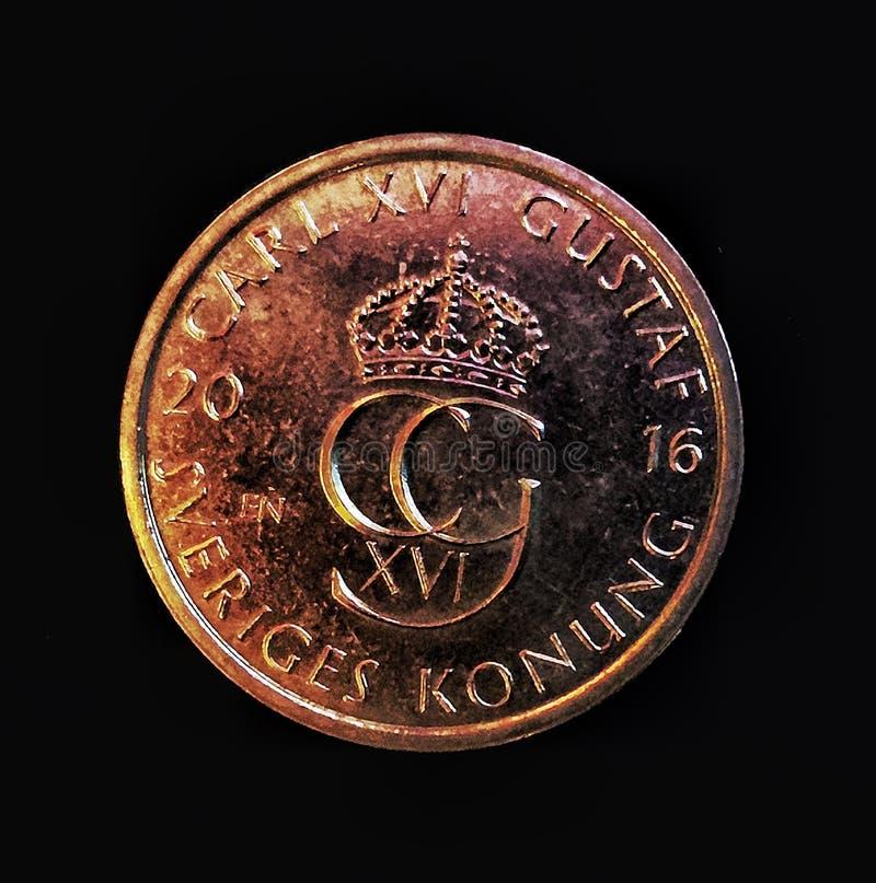 Devise suédoise image stock