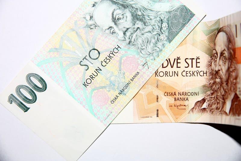 Devise tchèque images libres de droits