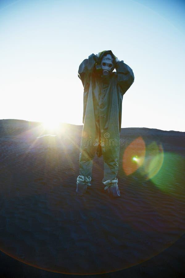 devoid ekologiskt ozon för atmosfärkatastrof fotografering för bildbyråer