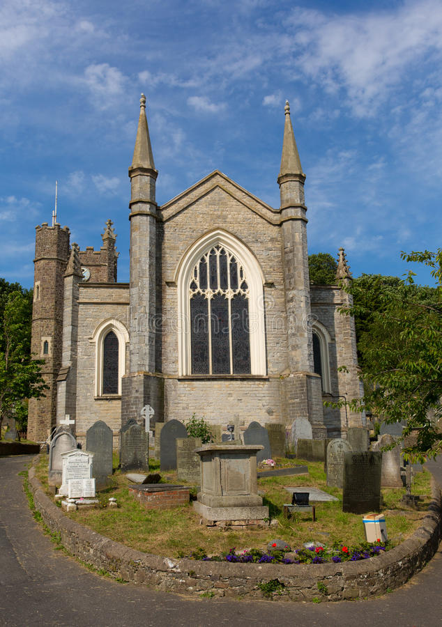 Free Devon Church St Marys Appledore England Stock Photo - 32610990