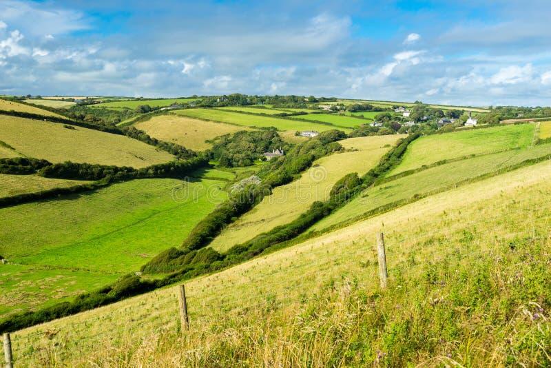 Download Devon Countryside Views imagen de archivo. Imagen de coastline - 100533261