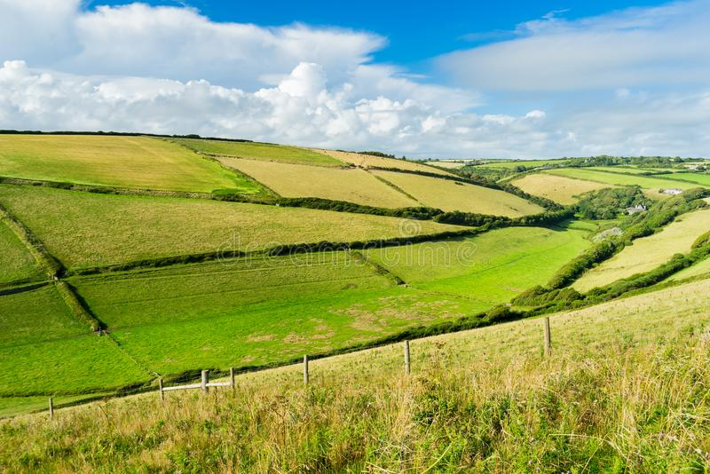 Download Devon Countryside Views foto de archivo. Imagen de costa - 100533332