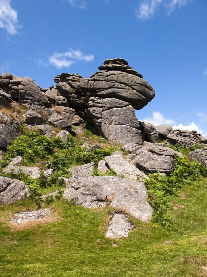 Devon escénico - Drtmoor foto de archivo
