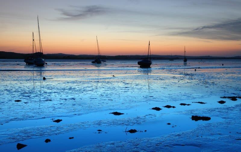 Devon Estuary stock photos