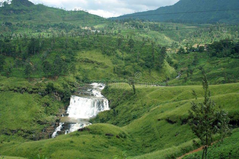 Devon Falls, one of Sri Lanka's stock photos