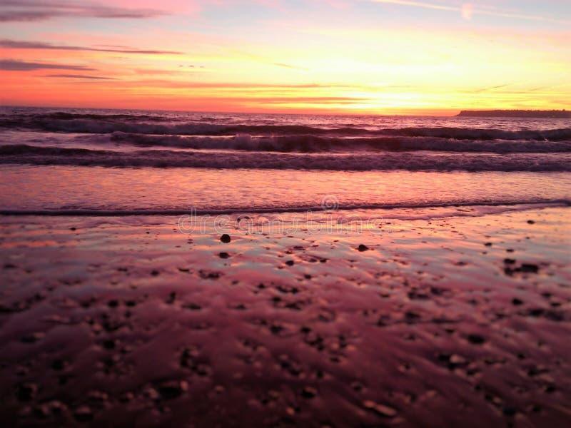 Devon - inglese Riviera immagine stock