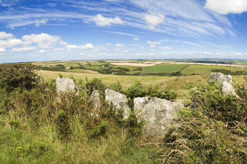 Devon krajobrazu zdjęcia stock