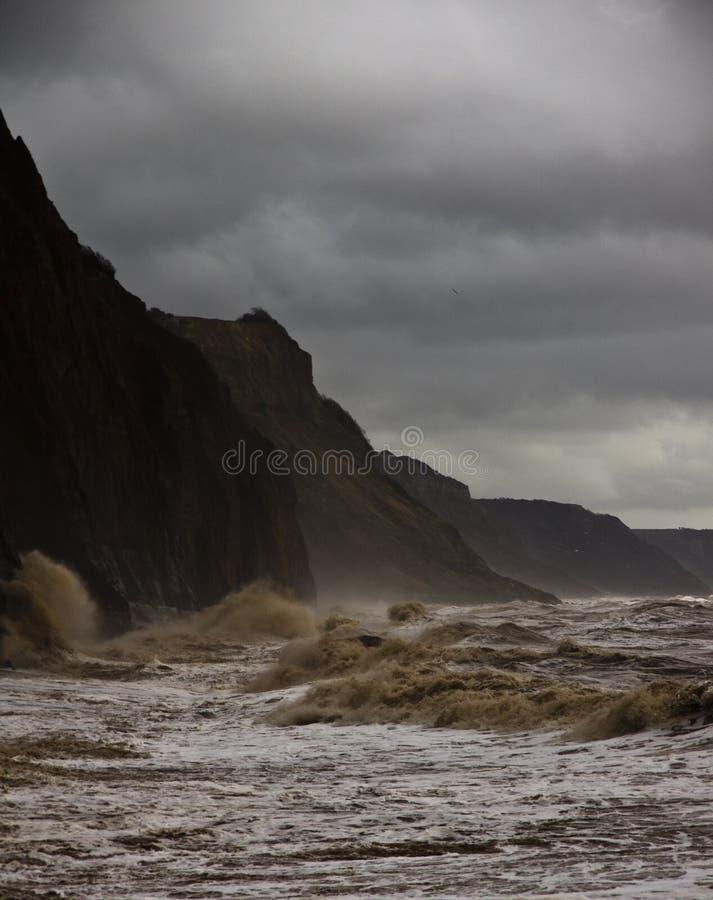 Devon-Sturm lizenzfreies stockfoto