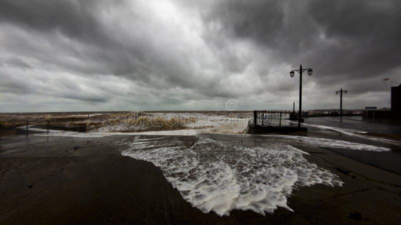 Devon-Sturm stockfotografie