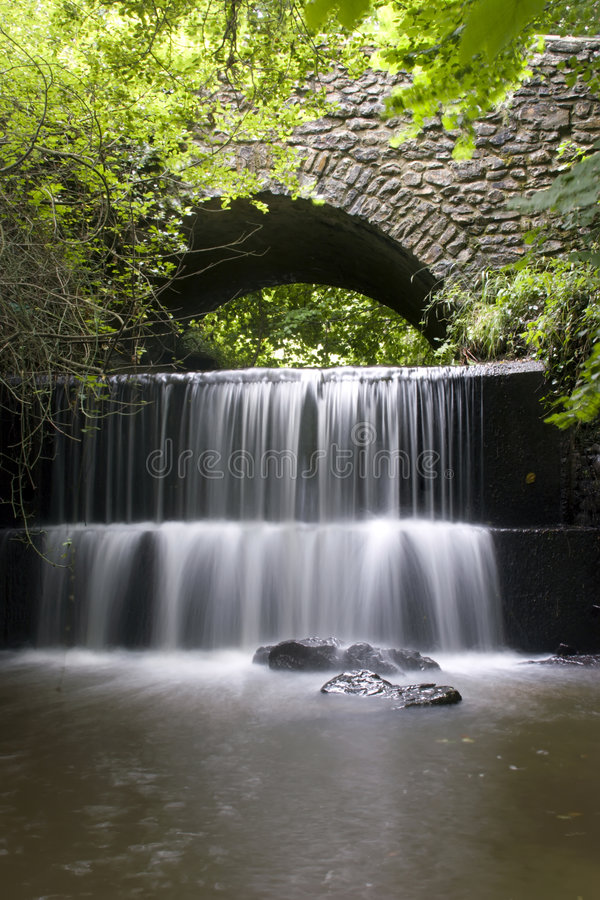 Devon Waterfall stock image