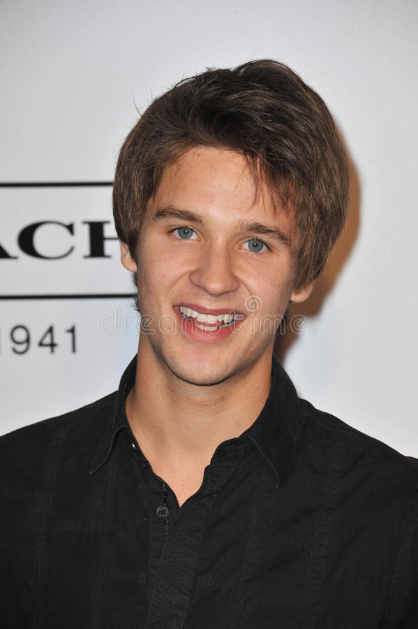 Download Devon Werkheiser editorial stock photo. Image of studios - 22925238