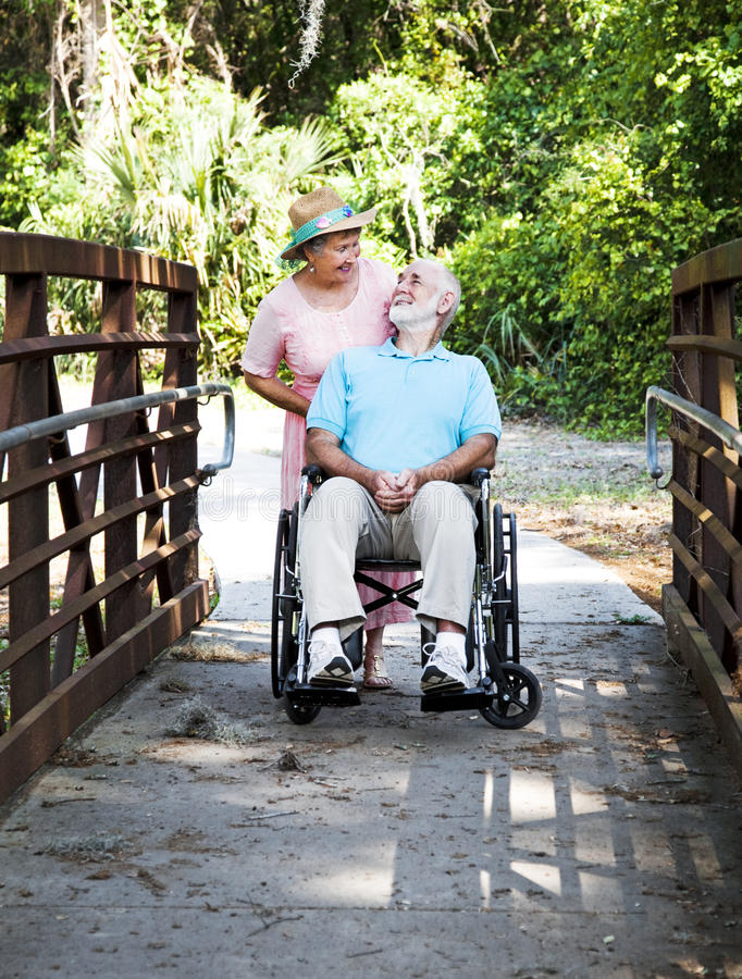 Download Devoted Senior Couple stock image. Image of gray, active - 14956199