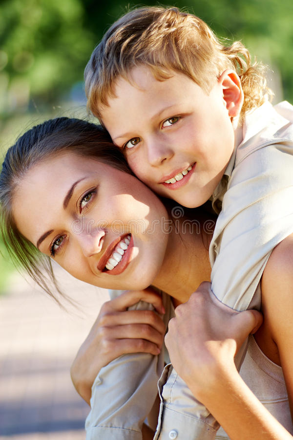Download Devotion stock photo. Image of embracing, people, offspring - 14945274
