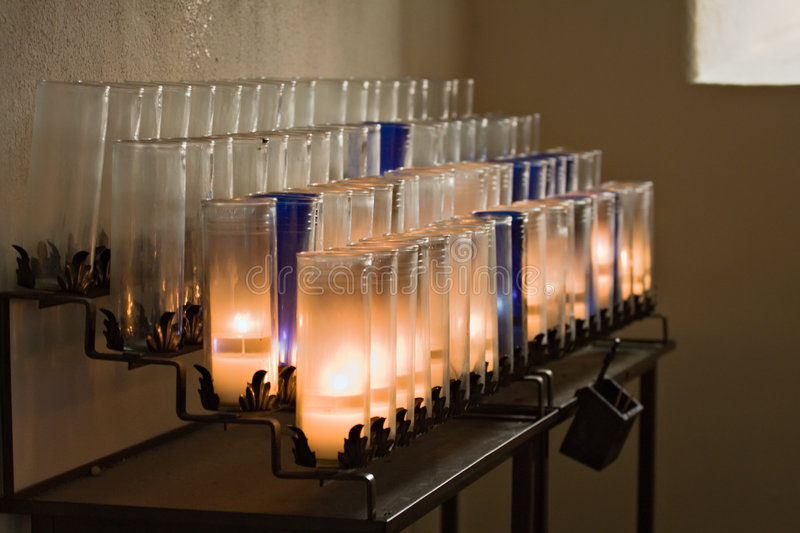 Download Devotional Candles stock photo. Image of candles, catholic - 2986778