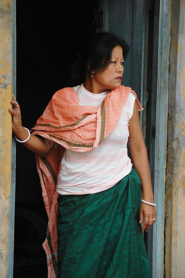 Devoto di Manipuri fotografia stock libera da diritti