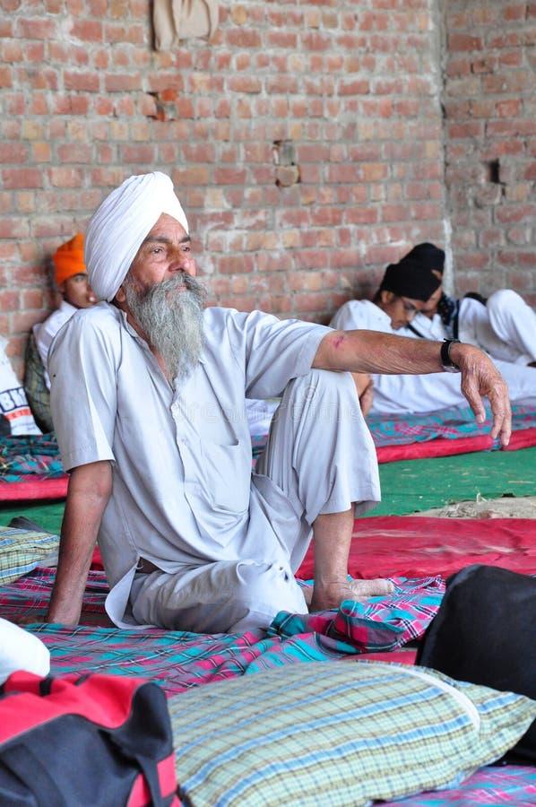 Devoto sikh fotografia stock