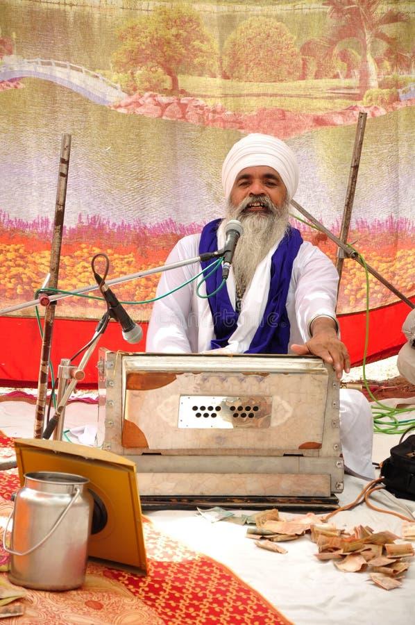 Devoto sikh immagine stock