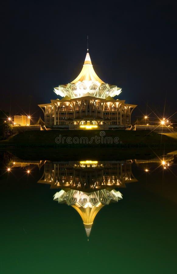 Dewan Undangan Negeri (DUN) stock afbeeldingen