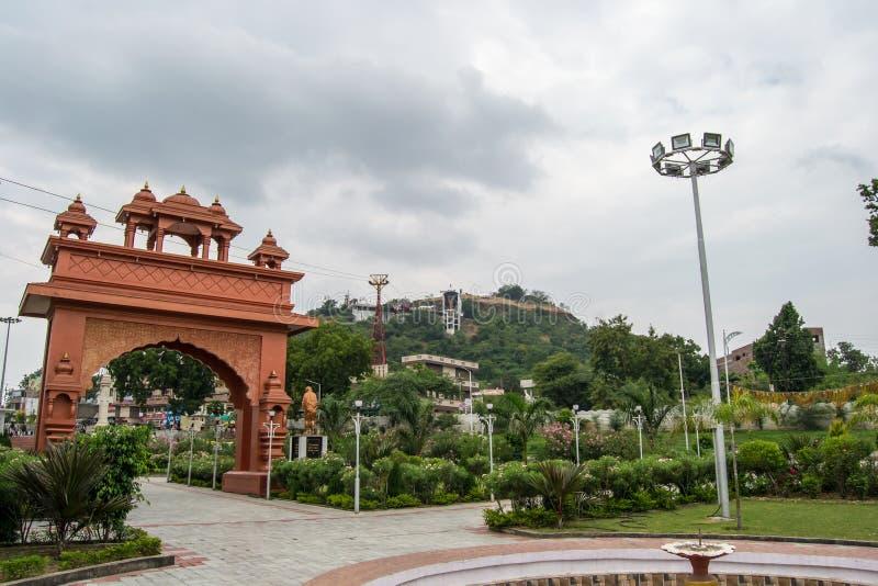 Dewas-Stadt Madhya Pradesh lizenzfreie stockfotografie