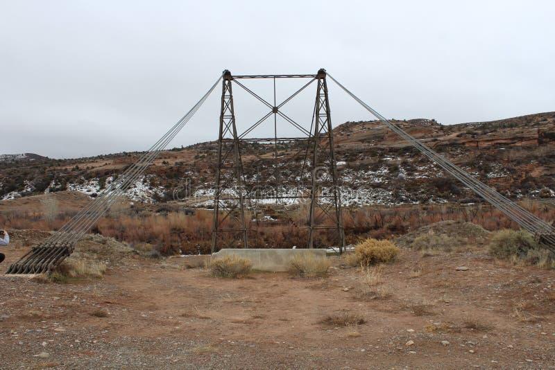 Dewy Bride. Utah, river, abandon royalty free stock image
