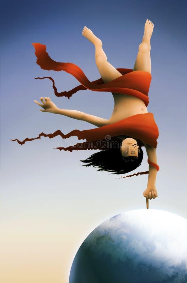 Download Dexter stock illustration. Illustration of windy, world - 8156527