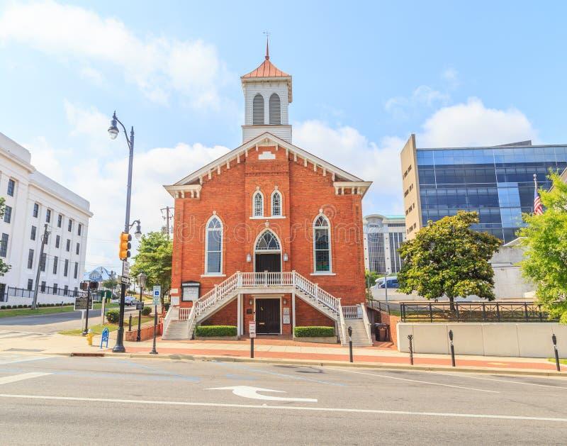 Dexter Avenue King Memorial Baptist-Kerk royalty-vrije stock afbeeldingen