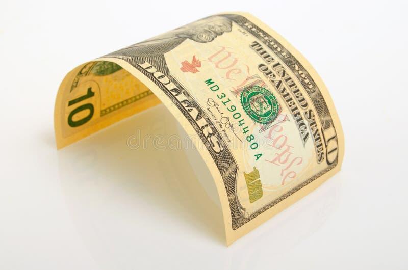Dez dólares foto de stock royalty free