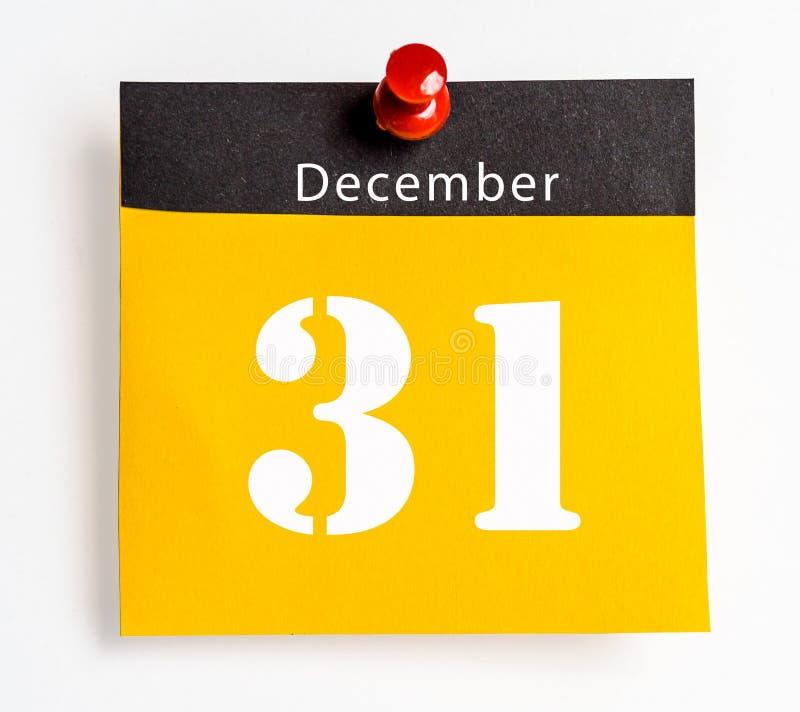31. Dezember stockbild