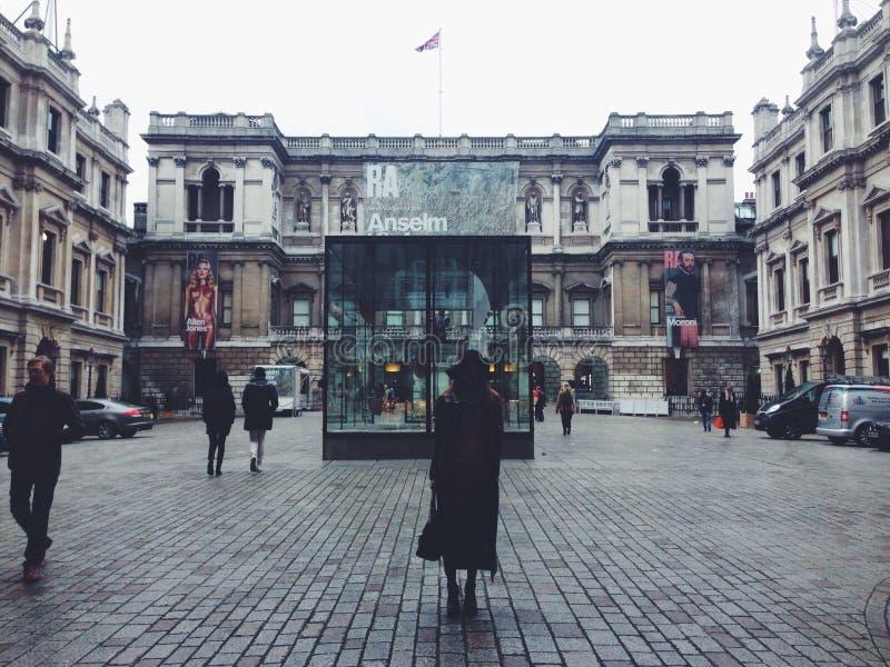 dezembro em Londres imagens de stock