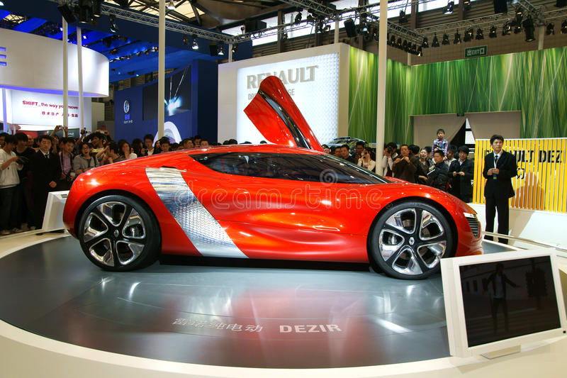 Dezir de Renault foto de archivo