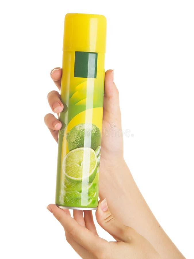 dezodoranta opryskiwanie zdjęcia royalty free