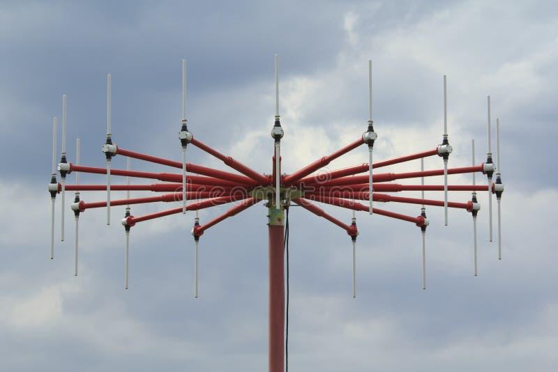 DF anteny zakończenie obrazy stock