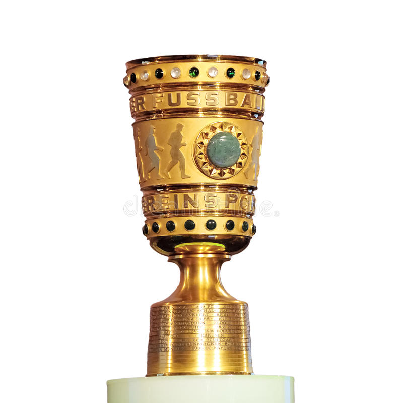 DFB-Pokal isolated. The DFB-Pokal (until 1952 Tschammer-Pokal or German Cup is a German knockout football cup competition held annually. Sixty-four teams