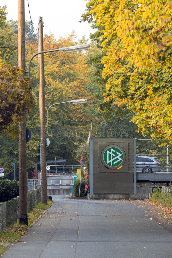 DFB Zentrale Φρανκφούρτη στοκ φωτογραφίες