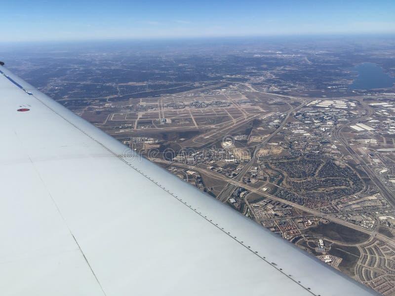 DFW Airport-1 fotografía de archivo libre de regalías