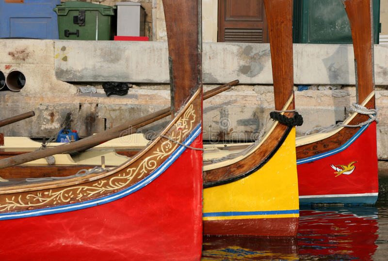 Download Dghajsa -  Maltese Water Taxi Stock Images - Image: 11798444