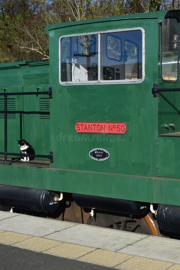 """0-6-0 DH электрическое """"Stanton 50' на kirkby станции stephen восточной стоковые изображения rf"""