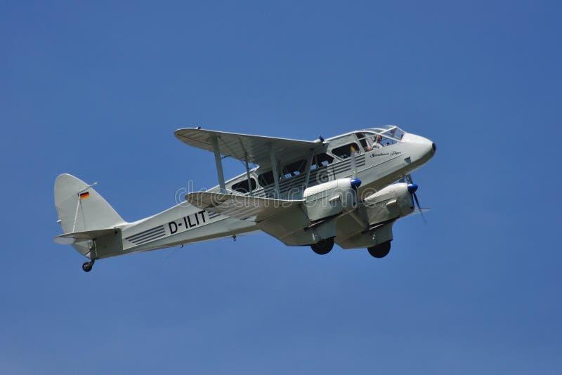 Dh-89A δράκος Rapide στοκ εικόνες