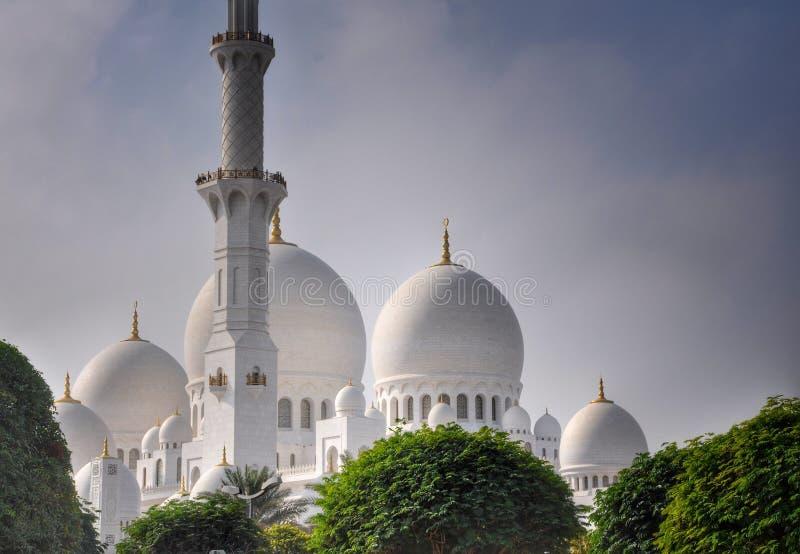 Dhabi-großartige Moschee stockfotografie