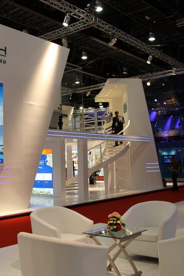 Dhabi-Stadtbild stockbild