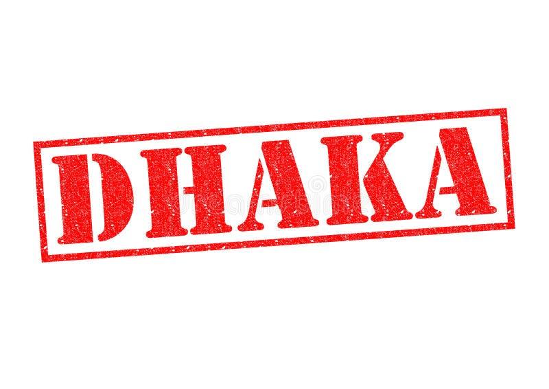dhaka royaltyfri foto