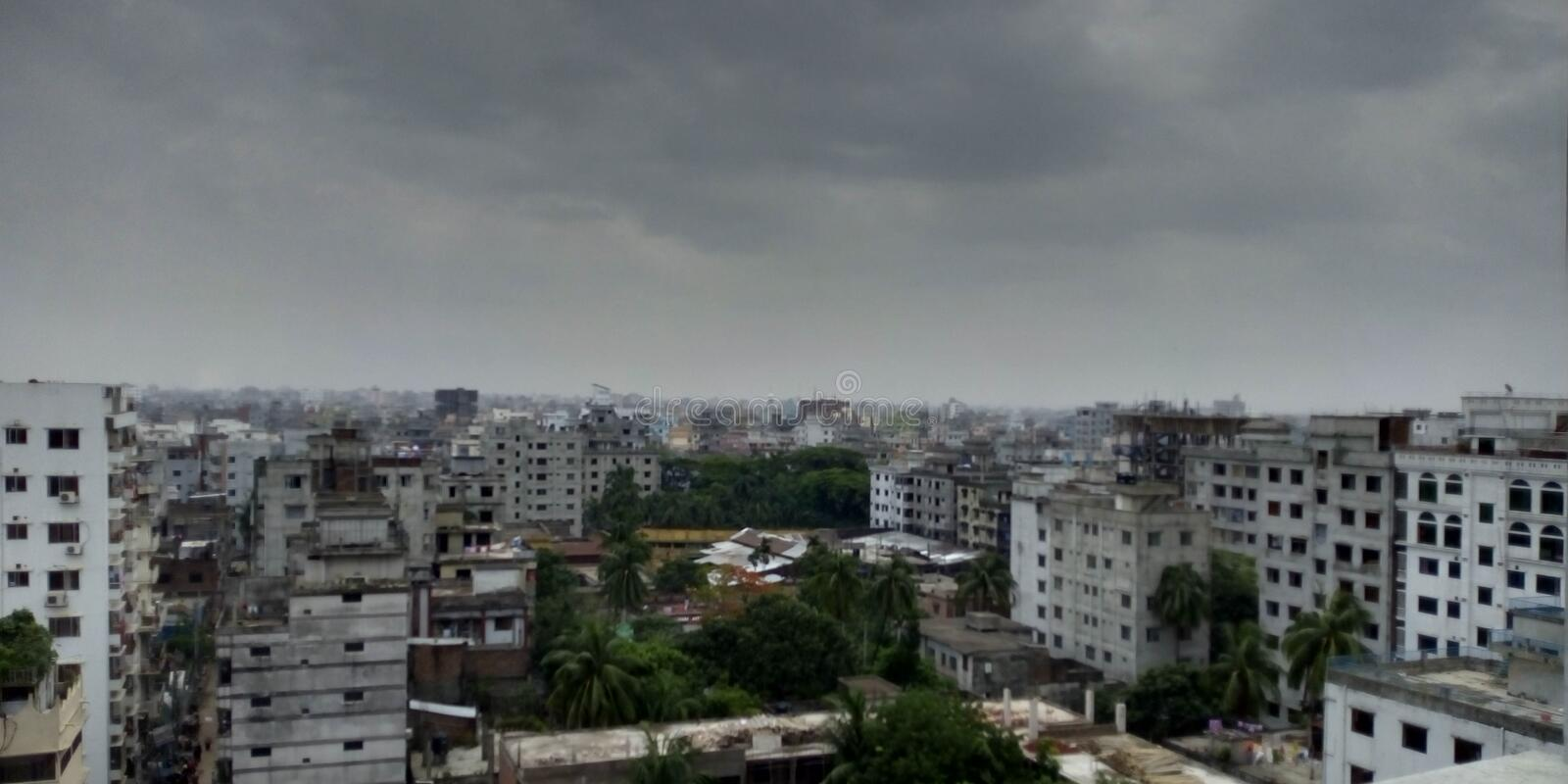 DHAKA city stock photography